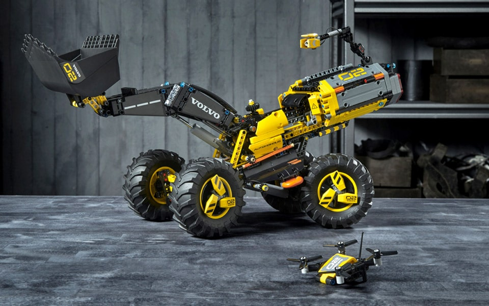 LEGO og Volvo har lavet en futuristisk gummiged - nu kan du købe den