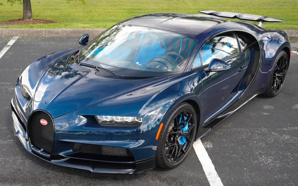Sådan føles det at køre en Bugatti Chiron Sport