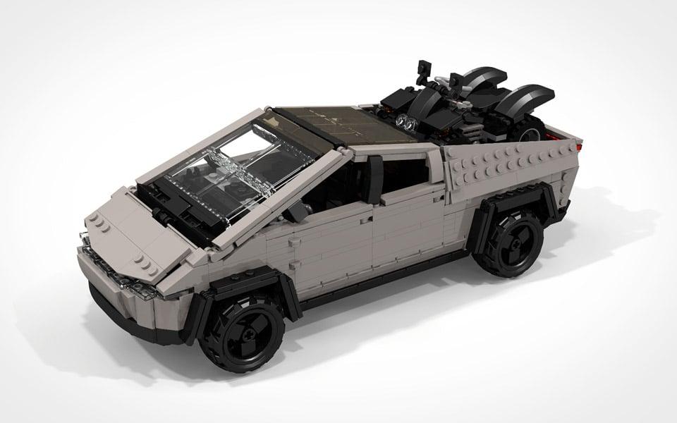 Selvfølgelig er Tesla Cybertruck perfekt som LEGO-sæt