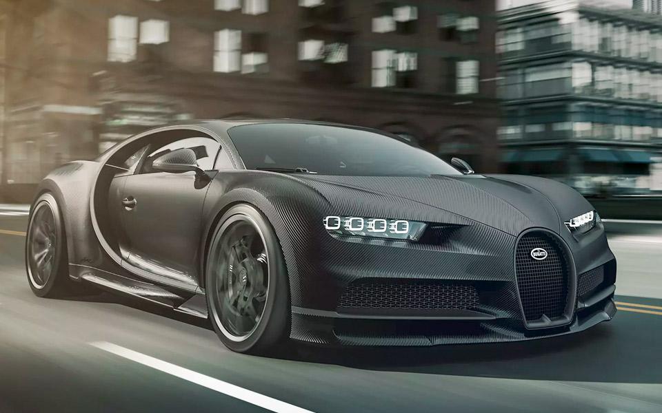 Bugatti Chiron fås nu i nøgen kulfiber