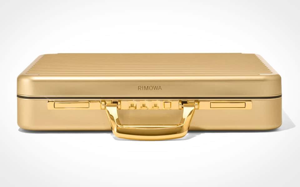 Rimowa Limited Edition Attaché Gold