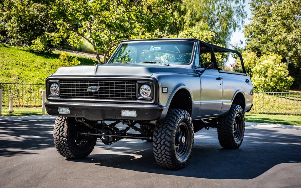 Travis Barkers specialbyggede Chevrolet Blazer kan nu blive din
