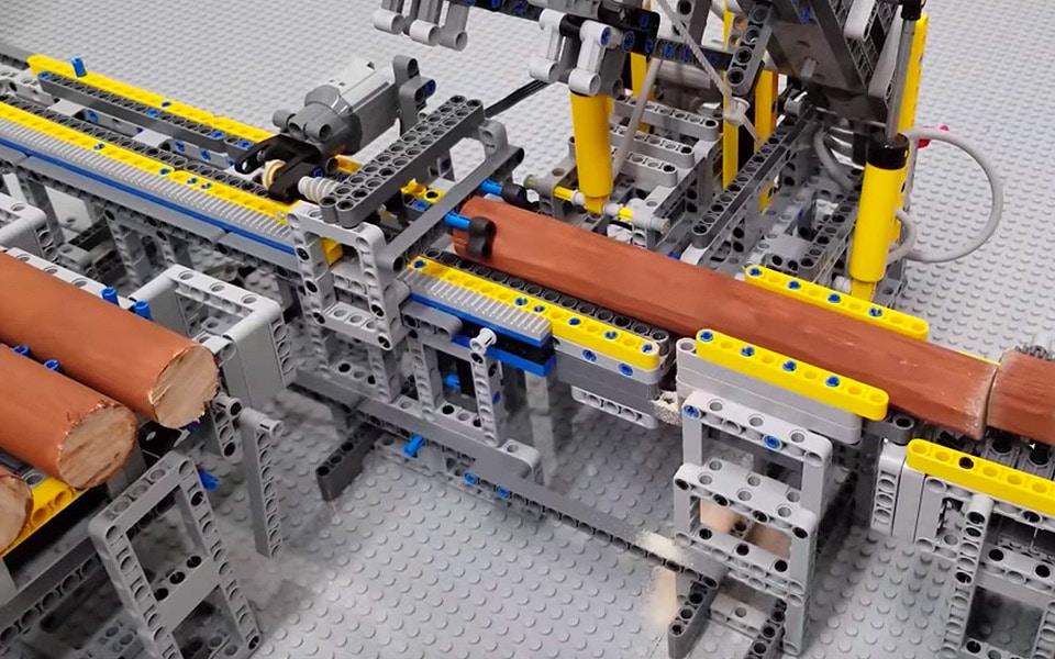 Det her LEGO-savværk er imponerende