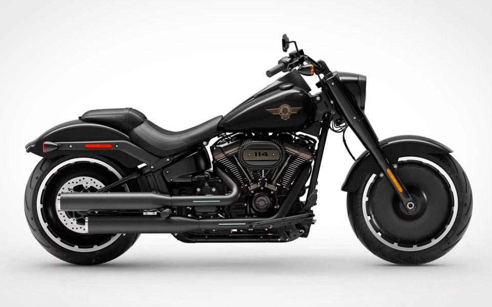 Harley-Davidson fejrer 30 års fødselsdag for Fat Boy med en sort specialudgave