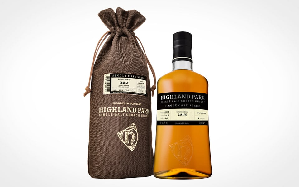 Highland Park Single Cask Danefæ