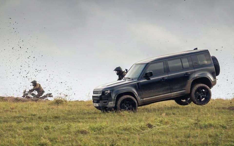 Land Rover smadrer den nye Defender