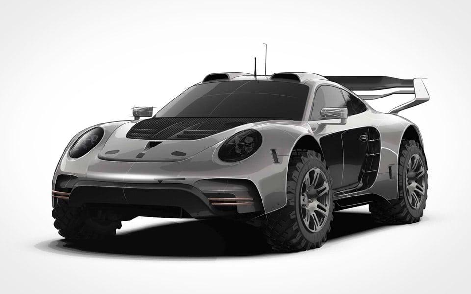 Gemballa viser offroad-version af Porsche 911