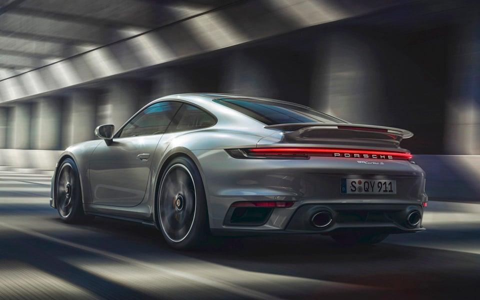 Her er den helt nye Porsche 911 Turbo S