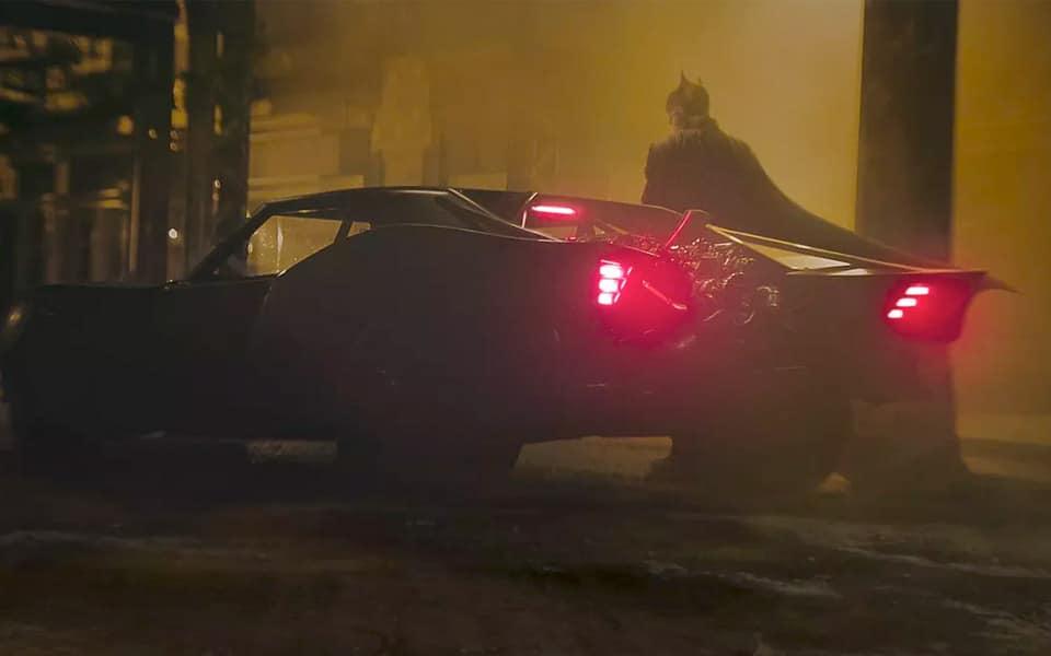 Her er den nye Batmobil