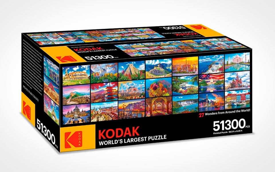 Kodak lancerer verdens største puslespil med 51.300 brikker