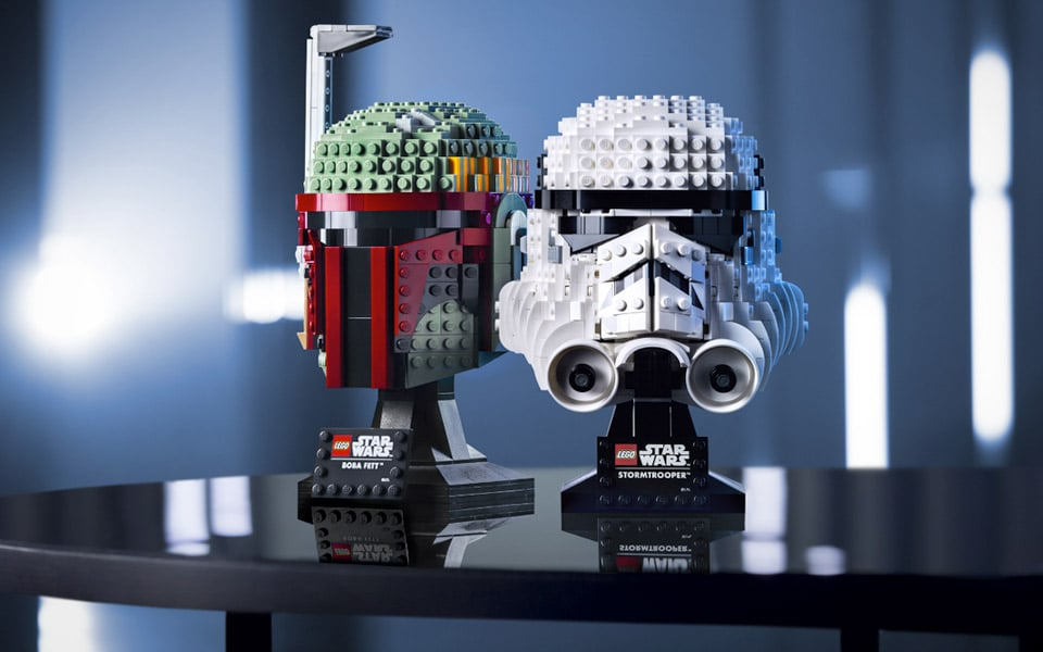 LEGO lancerer nye Star Wars hjelme