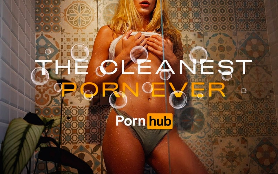 """Pornhub lancerer """"Cleanest Porn Ever"""""""