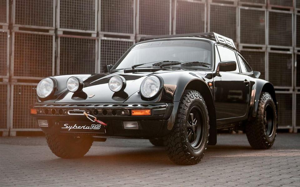 Porsche 911 Syberia RS er klar til det hårde terræn