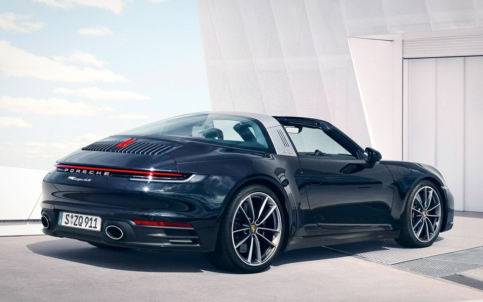 Den nye Porsche 911 Targa er mega lækker