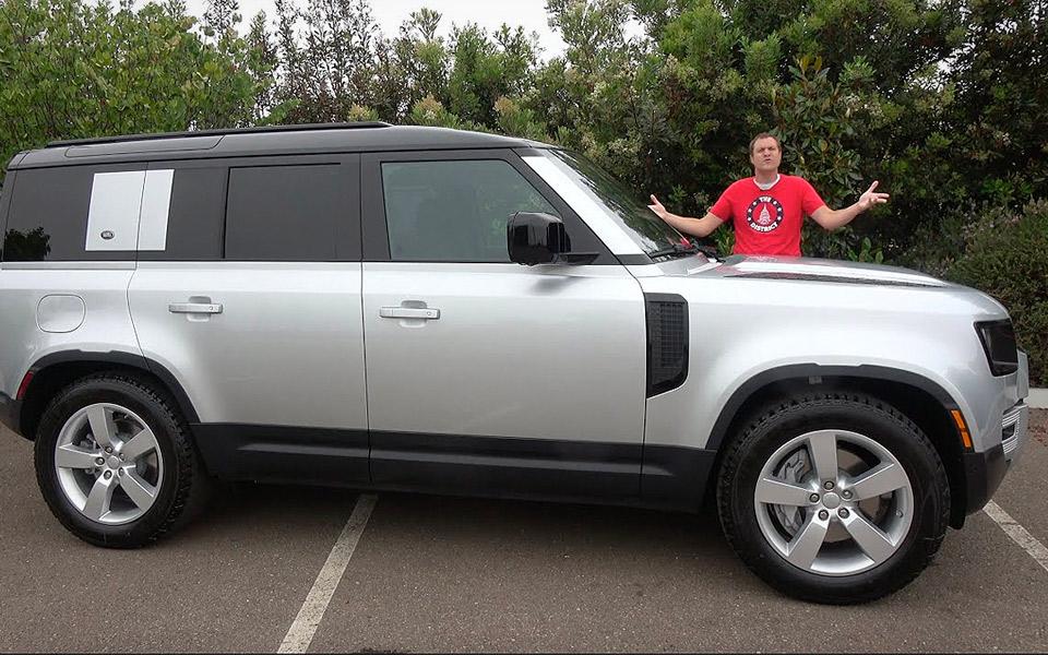 Doug DeMuro tester den nye Land Rover Defender