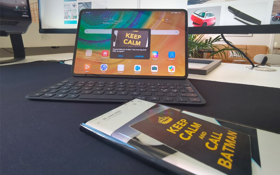 Huawei MatePad Pro smelter din mobil, tablet og computer sammen med stærk software