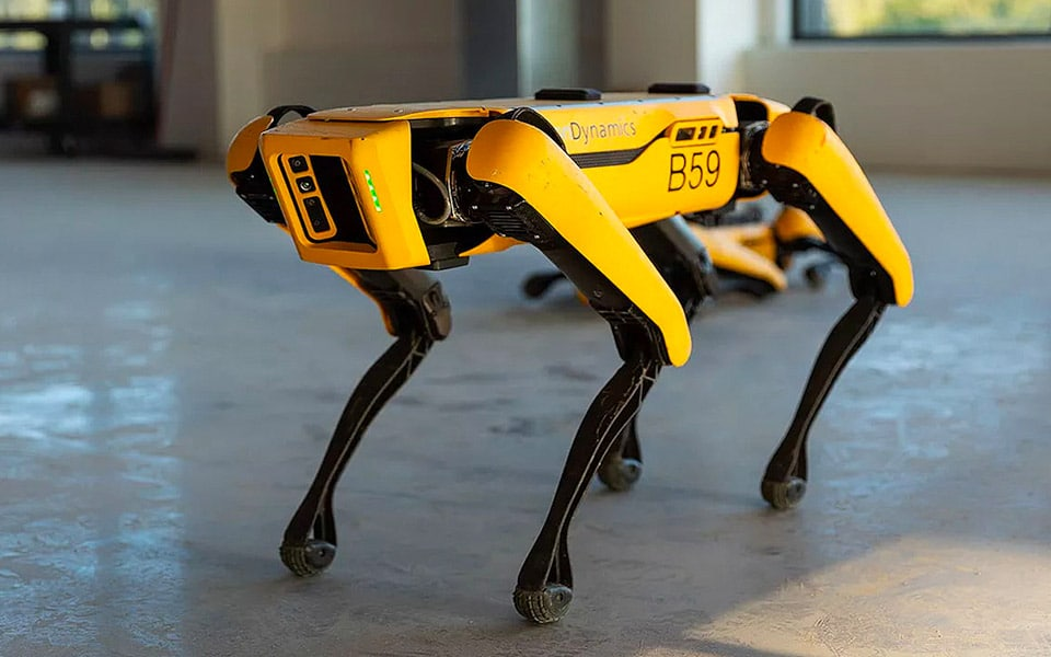 Nu kan du købe robo-hunden Spot