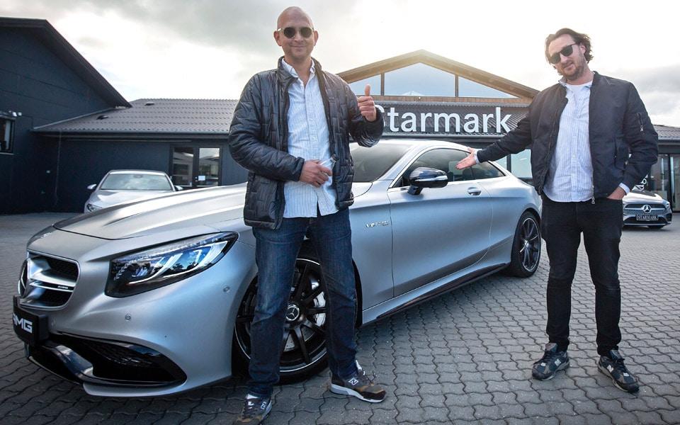 Fejr Fars Dag med en rigtig herrevogn - Starmark har en vanvittig Mercedes-AMG S63 klar til sjov
