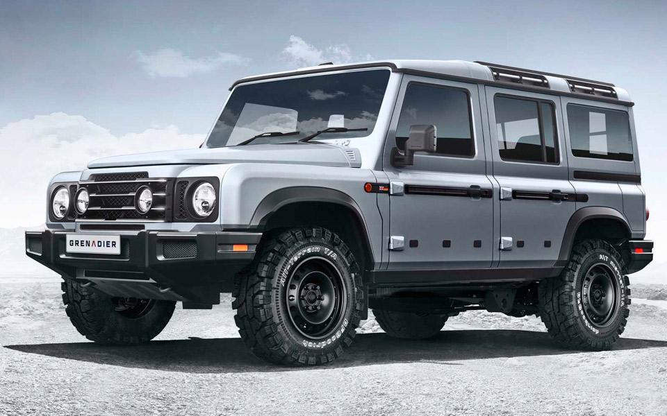 Den gamle Land Rover Defender genopstår som Ineos Grenadier