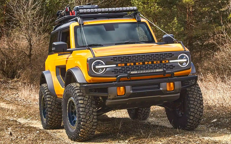 Her er den helt nye Ford Bronco