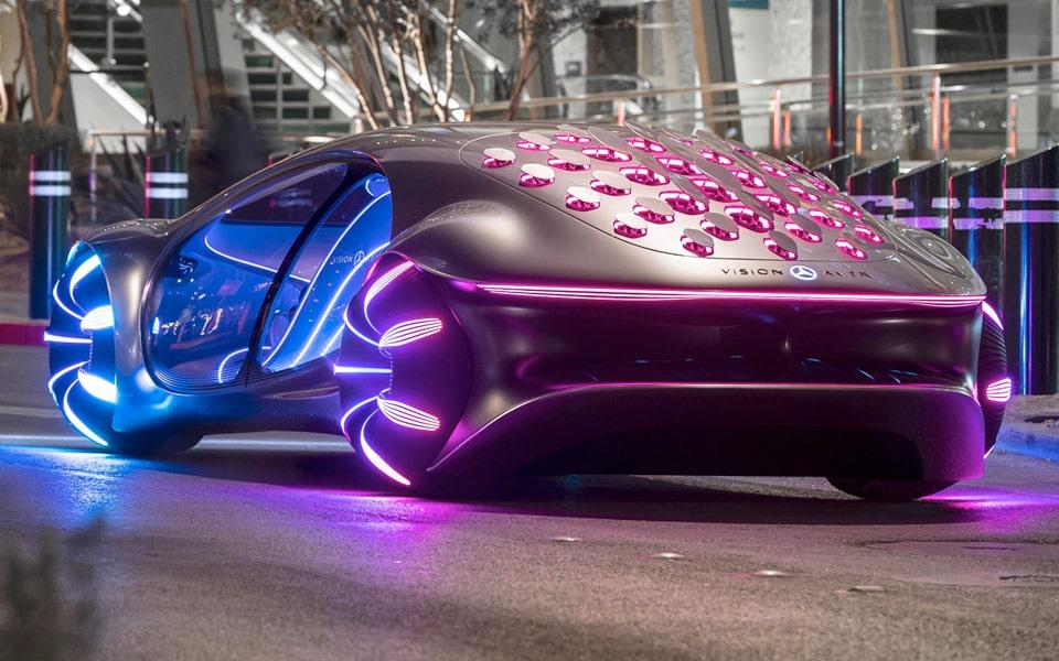 Mercedes og James Cameron har lavet en ekstrem Avatar-bil