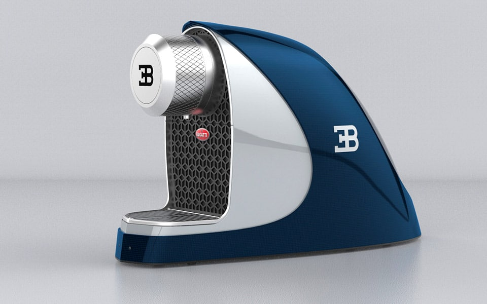 Bugatti Chiron kaffemaskine