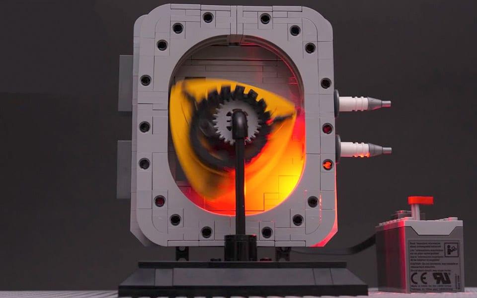 Wankel-motor af LEGO