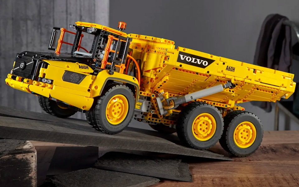 LEGO Technic Sekshjulet Volvo-dumper