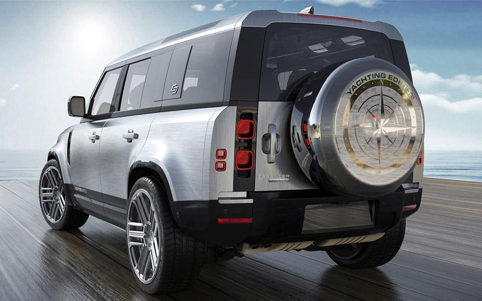 Carlex ordner din Land Rover Defender