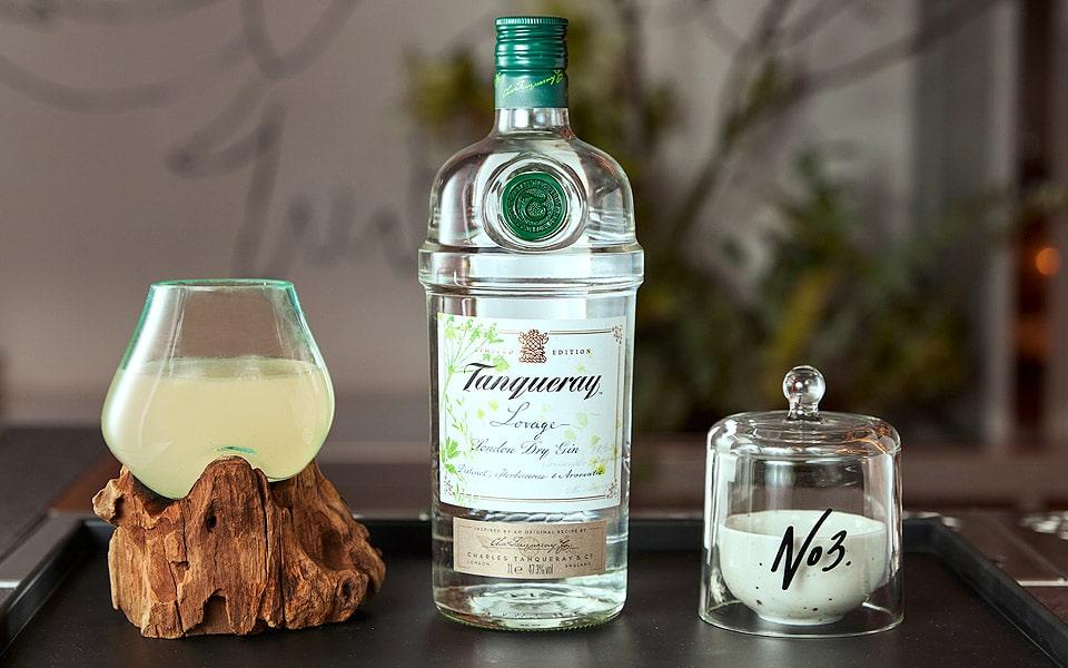 Tanqueray Gin udfordrer din næse med duftbaseret cocktailkort