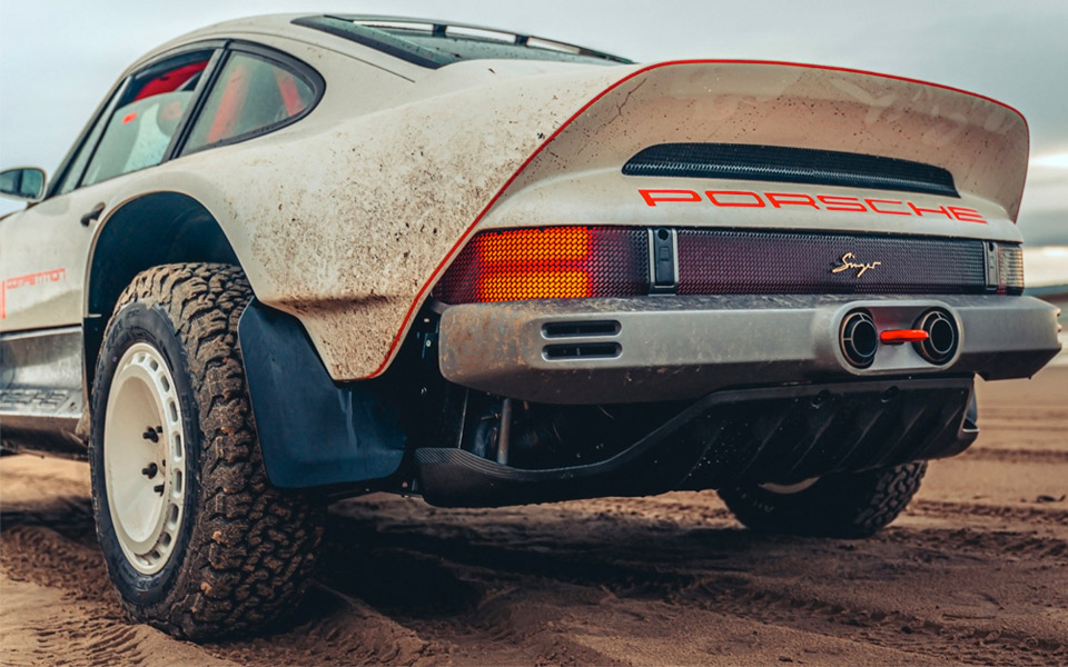 Singer ACS er en Porsche 911 til offroad