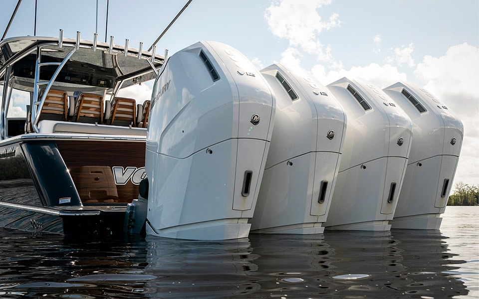 Mercury er klar med V12-motorer til din båd
