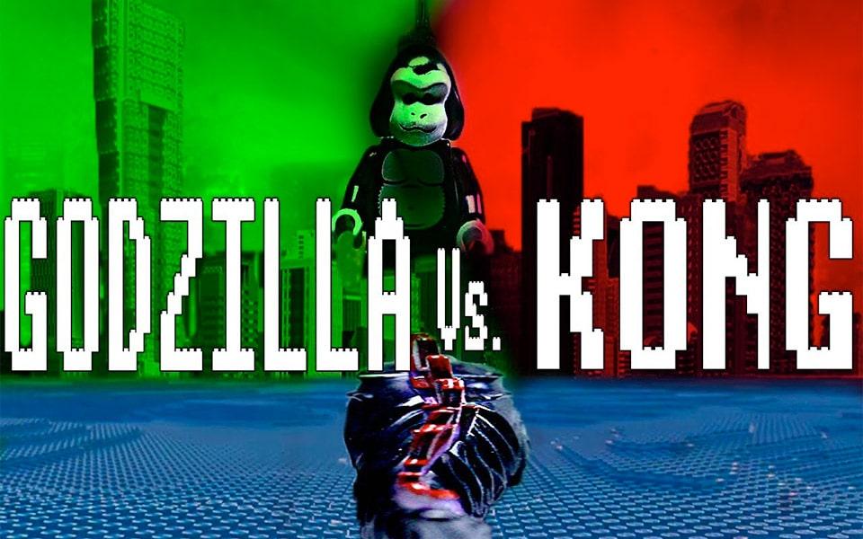 Se Godzilla vs. Kong traileren lavet med LEGO
