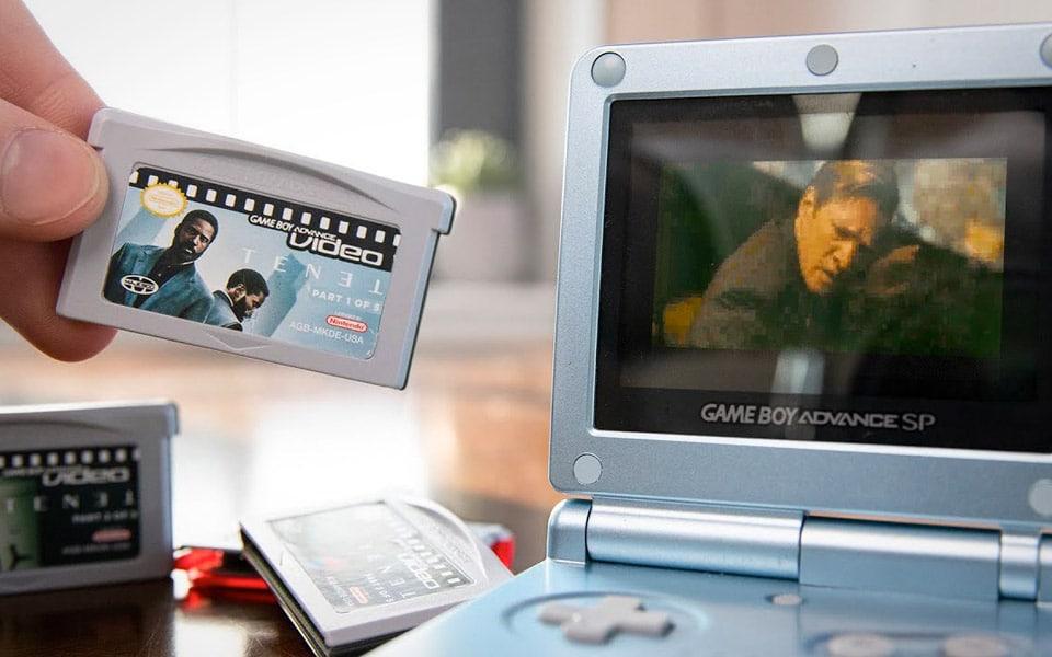 Tenet på en Game Boy Advance