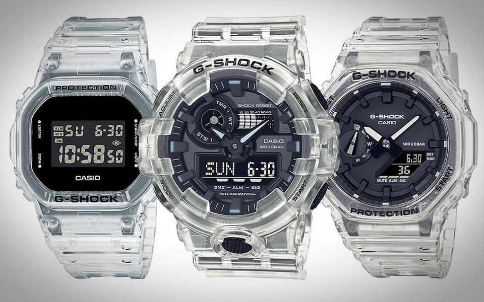 Casio G-Shock Skeleton Series