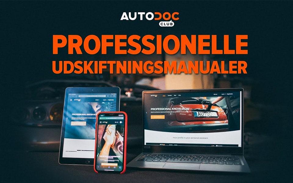 AUTODOC CLUB hjælper dig med selv at fikse bilen