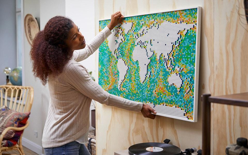 LEGO Verdenskort