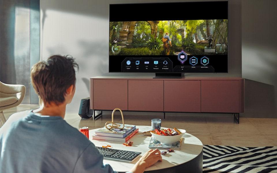 Samsungs nye TV banker din gaming op på next-level