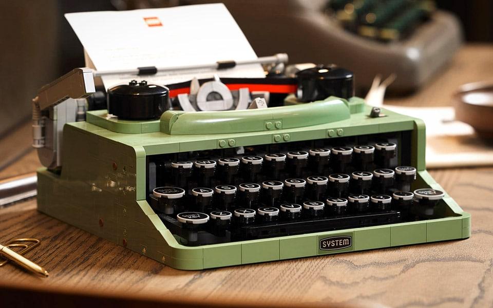 LEGO Skrivemaskine