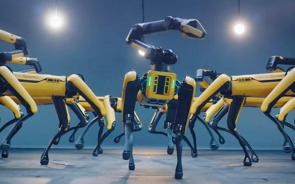 Boston Dynamics robothund er overraskende god til at danse